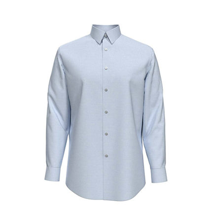 Calvin Klein Men's Dress Shirt Slim Fit Non Iron Herringbone.