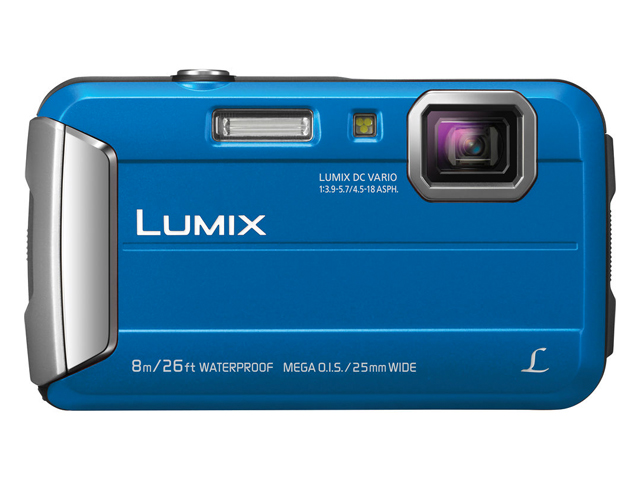 Panasonic Lumix DMC-TS30 Digital Camera with Accessory Kit.