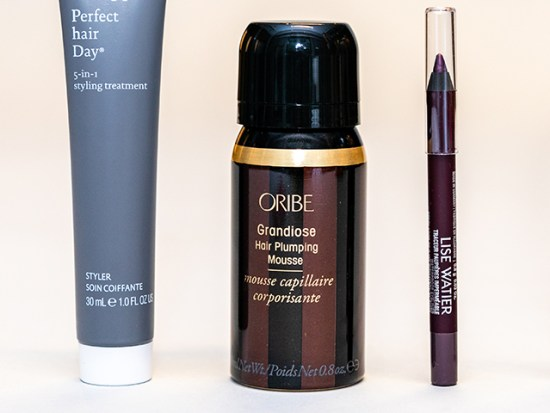 Oribe Grandiose Hair Plumping Mousse.