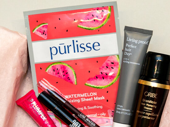 Pūrlisse Watermelon Energizing Sheet Mask.