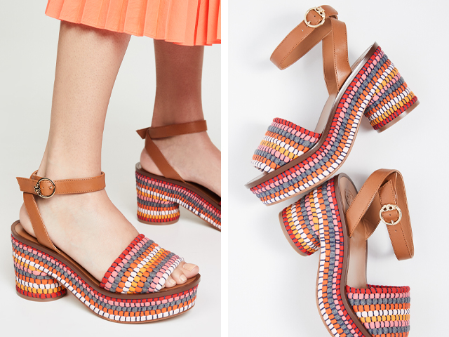 Tory Burch Paloma 95mm Sandals.