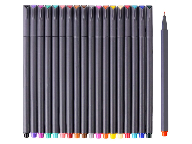Journal Planner Pens Colored Pens Fine Point Markers Fine Tip Drawing Pens.