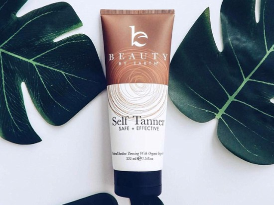 Self Tanner with Organic & Natural Ingredients styled.