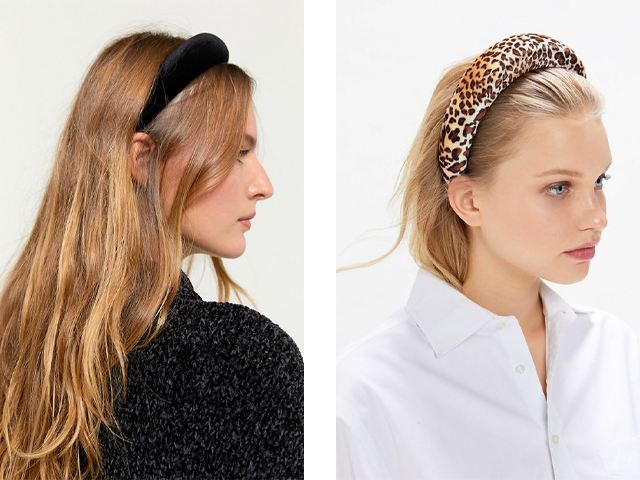 Urban Outfitters Oversized Padded Headband.