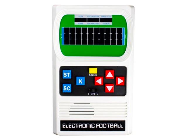 Football Electronic Game - Handheld - Mattel Classic.