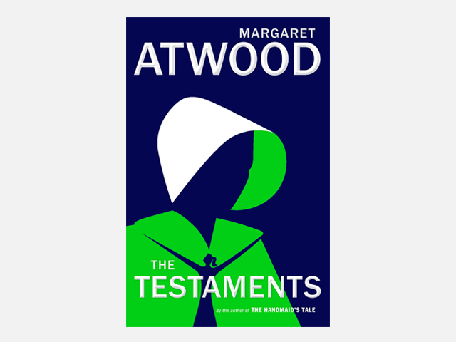 The Testaments: The Sequel to The Handmaid's Tale.