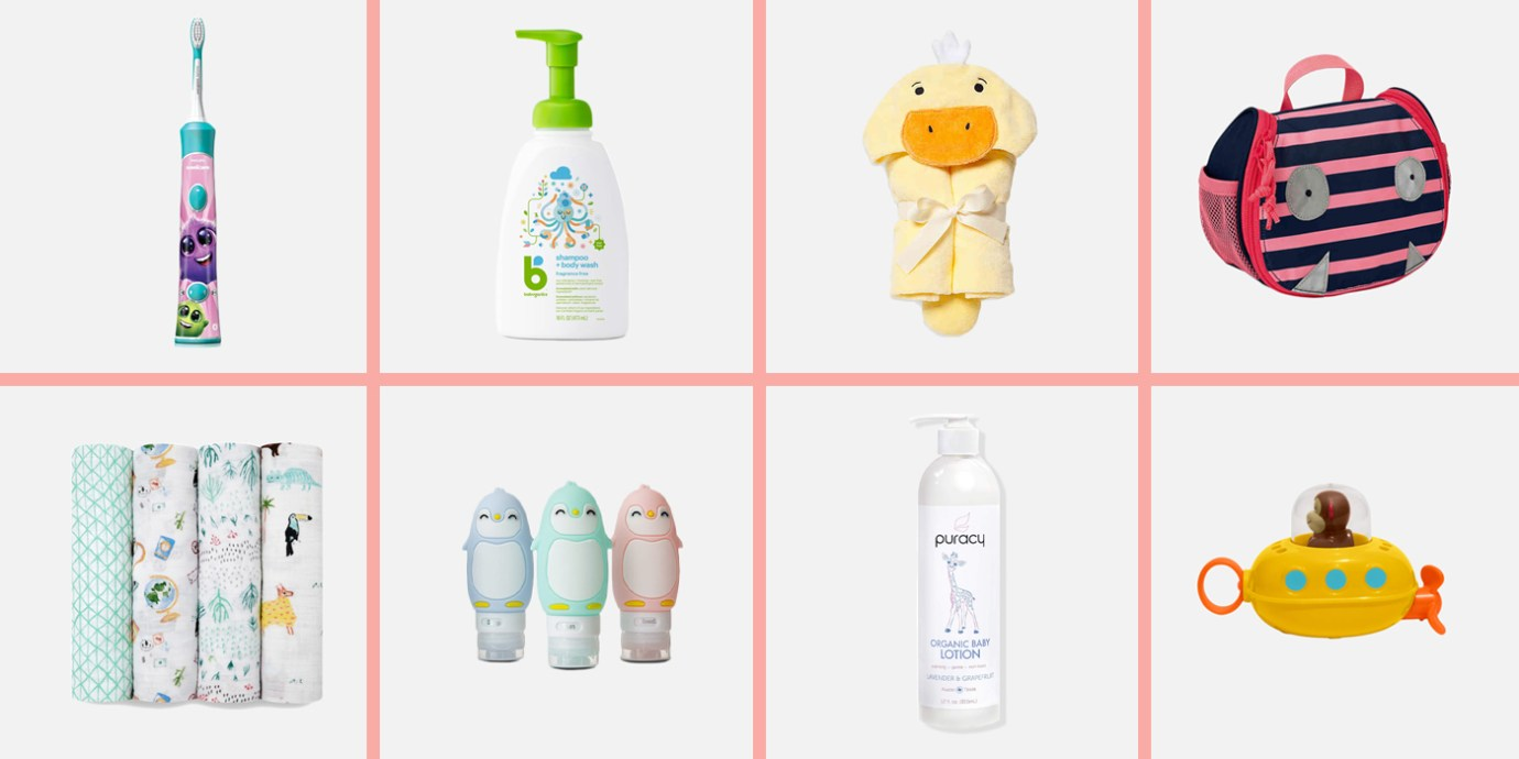 Best Toiletries for Babies and Kids—and the Best Toiletry Bags to Carry it All.