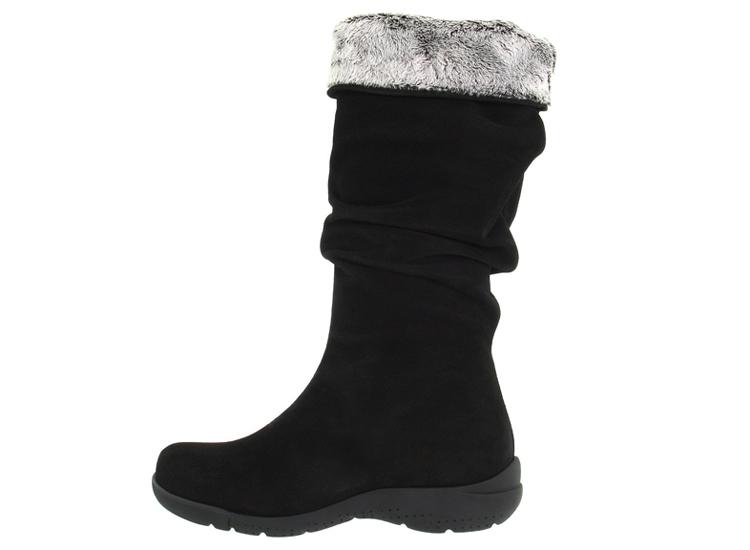 La Canadienne Trevis Women's Boots in Black.