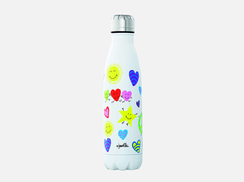 @Jewelchic by House VIP DW-Insulated Stainless Steel 17oz/500ml Water Bottle.