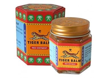 Tiger Balm Red Extra strength Herbal Rub.