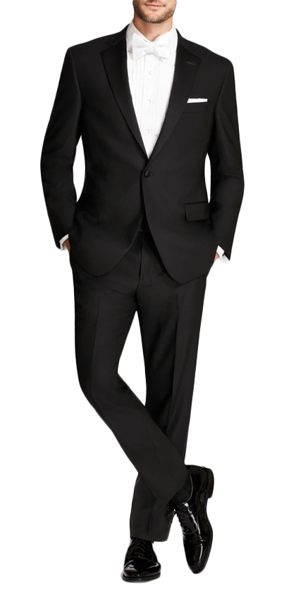 Brooks Brothers Regent Fit One-Button 1818 Tuxedo.
