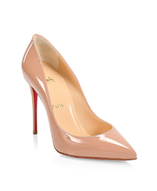 Christian Louboutin Pigalle Follies 100 Patent Leather Pumps.
