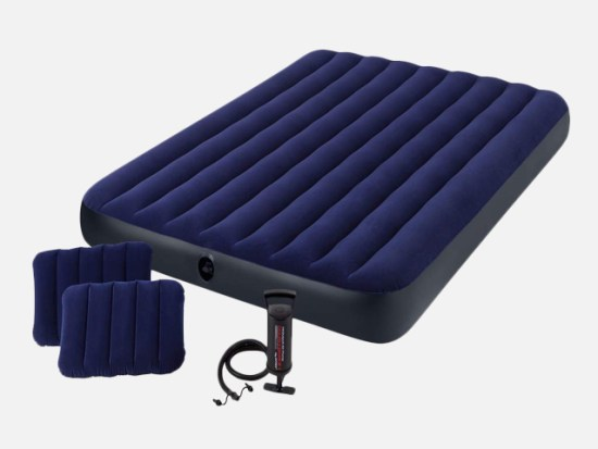 Intex Classic Downy Airbed Set with 2 Pillows.