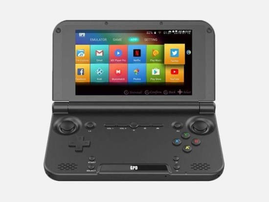 "GPD XD Plus Foldable Handheld Game Consoles 5"" Touchscreen."