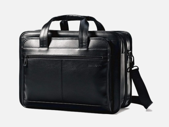 Samsonite Leather Expandable Business Case.