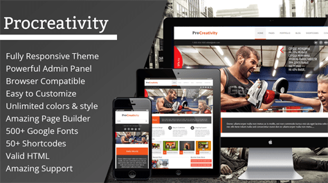 ProCreativity WordPress Theme
