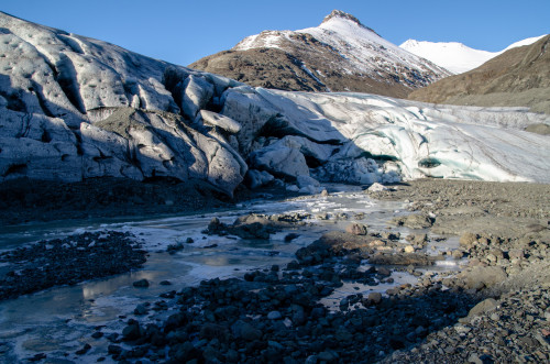 Iceland - the edge of the glacier