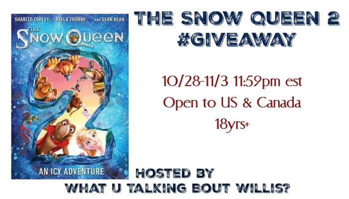 the snow queen 2 giveaway