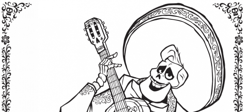 Coco Coming to Theaters 11.22 plus Coloring Sheets!