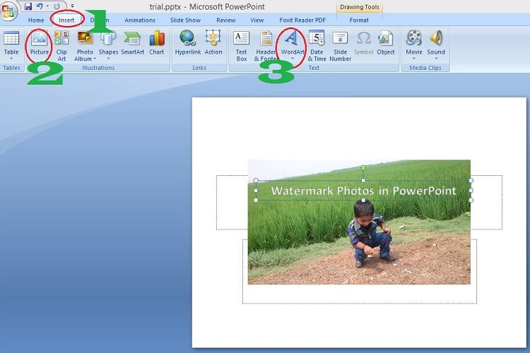 How to watermark photos in PowerPoint