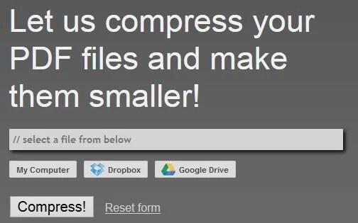 pdf compressor online
