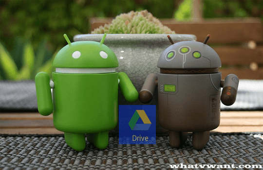 backup android to google drive