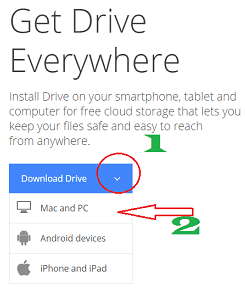 backup to google drive