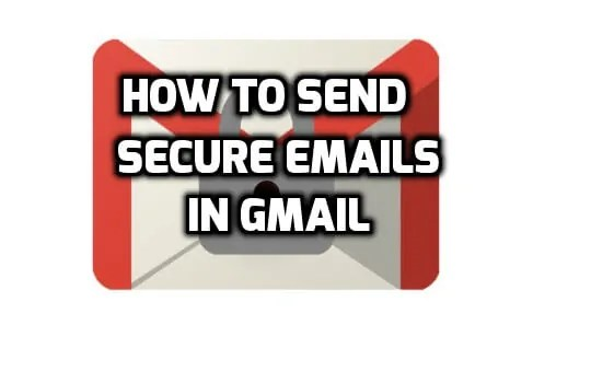 how to send a secure email easily
