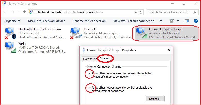 laptop wifi hotspot