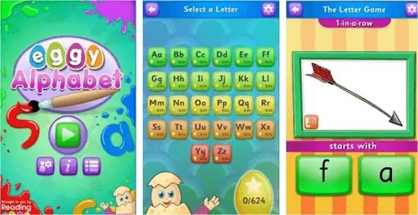 early childhood education Eggy Alphabet