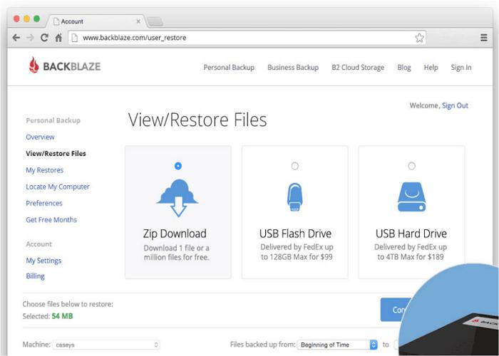 online backup services backblaze