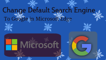 Set Google as default search engine in IE,Chrome,Firefox&Opera ...