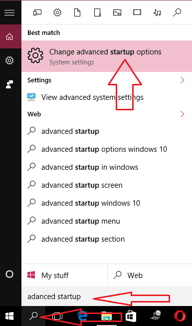 advanced start up