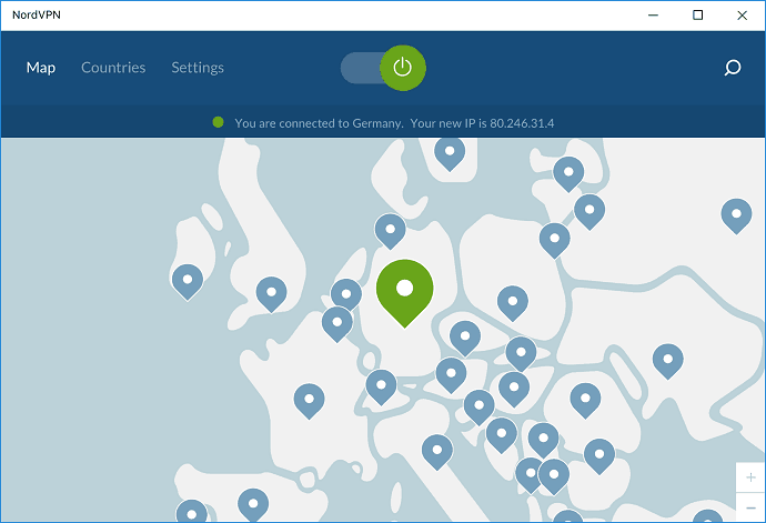 Connect NordVPN