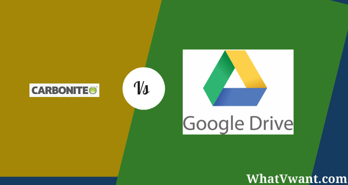carbonite vs google drive