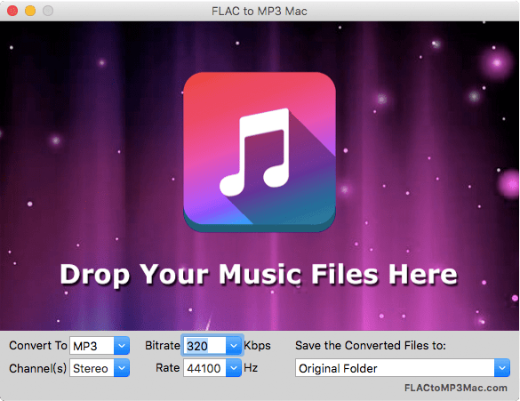 Convert FLAC to MP3 on Mac