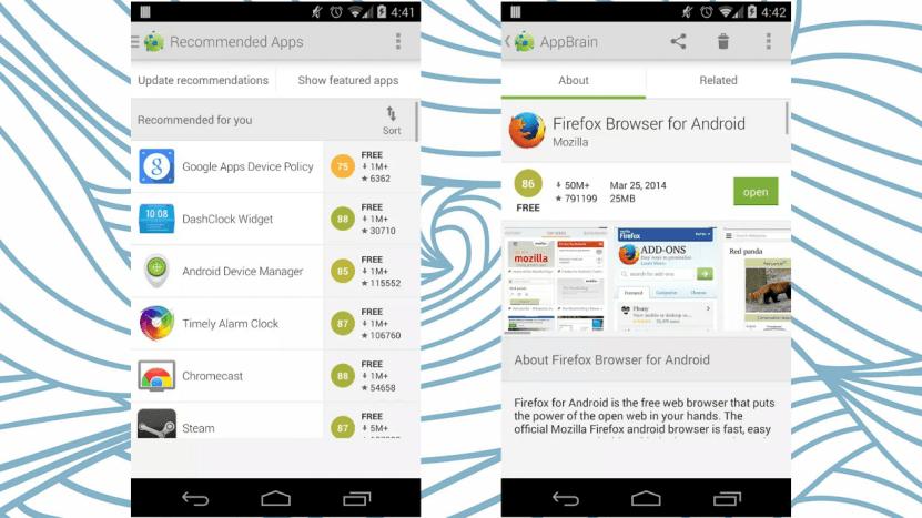 AppBrain - Google Play Store Alternative ?