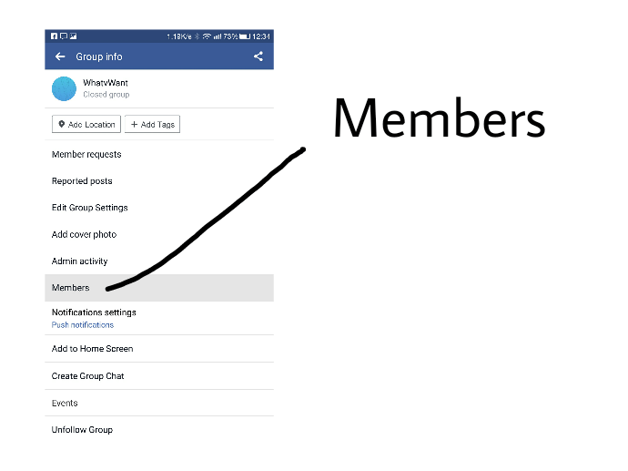 2 Ways to Delete Facebook Group From Android & Windows/Mac 1
