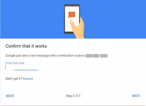 Setup 2FA Google Authentication