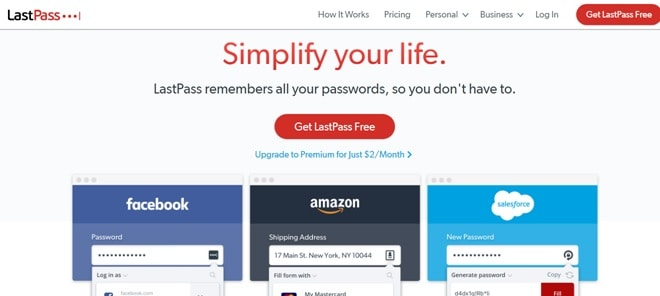lastpass password
