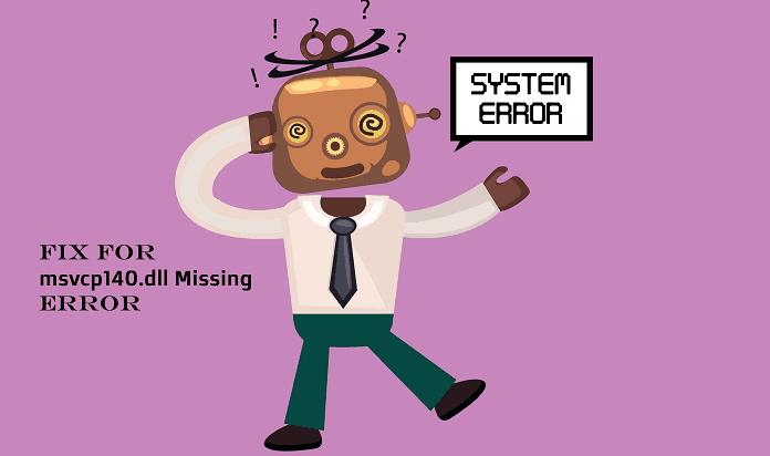 msvcp140.dll Missing