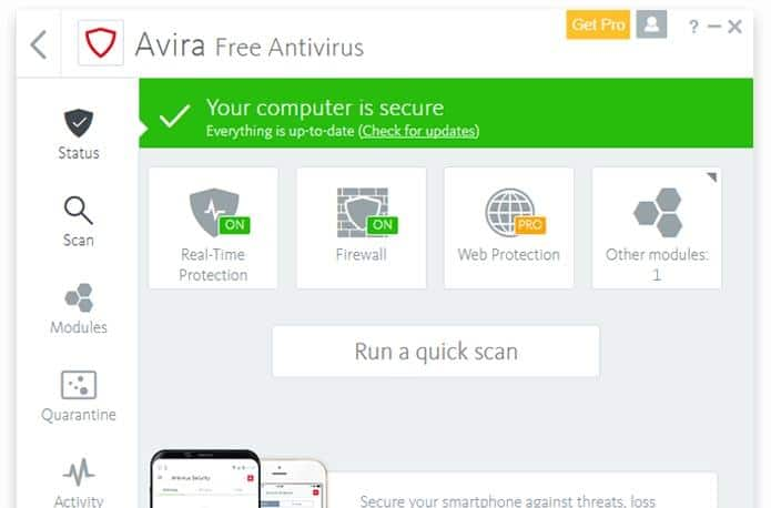 Top 5 Best Antivirus Software for Windows PC 3