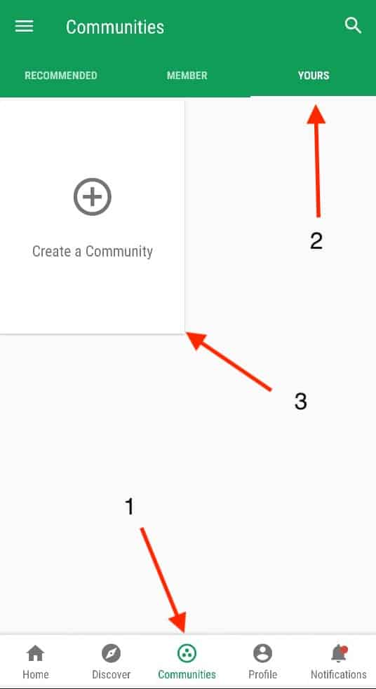 2 Methods To Create a Google Plus Community 6