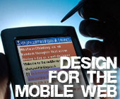 Alexander Rehm gives a short run-down on designing for the mobile web