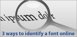 3 ways to identify a font online
