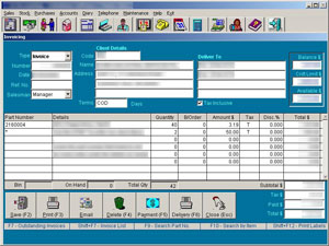 Some stock-checking and invoicing software would only work with IE6