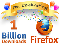 1 billion downloads of firefox - whatwasithinking.co.uk