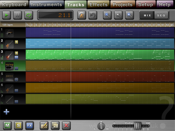 Music Studio for the iPad screenshot