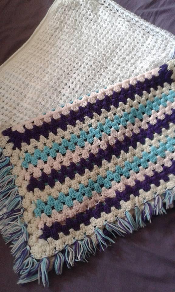 Blankets made by Grandma McNama