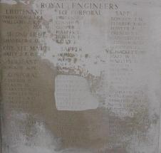 Memorial Panel for Ernest Francis Bullen